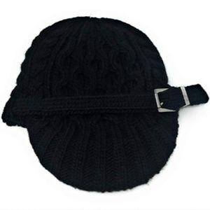 Michael Kors Cableknit Newsboy Hat